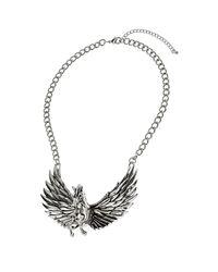 TOPSHOP Metallic Pegasus Collar