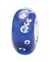 Trollbeads | Blue Diamond Zirconia Glass Bead | Lyst