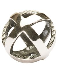 Trollbeads | Metallic Stay Positive Bead | Lyst