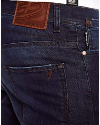 G-Star RAW | Blue 55dsl Pyrons Jeans in Skinny Fit for Men | Lyst