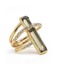 Alexis Bittar - Metallic Hyperion Small Orbit Ring - Lyst