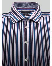 Duchamp Blue =Long Sleeve Shirt for men