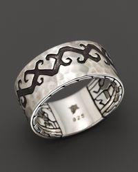 John Hardy | Metallic Dayak Sterling Silver Band Ring for Men | Lyst