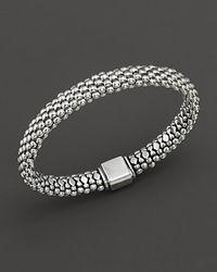 Lagos Metallic Caviar™ Oval Rope Bracelet