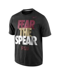 Nike Black Florida State College Local Tshirt for men