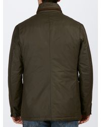 Barbour Green Kenmuir Waterproof Jacket for men