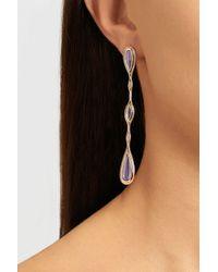 Fernando Jorge - Purple 18karat Rose Gold Amethyst and Diamond Earrings - Lyst