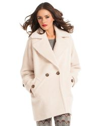 Trina Turk Natural Nancy Coat