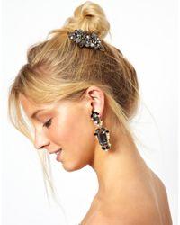 ASOS - Multicolor Jewel Frame Earring Hair Brooch Pack - Lyst