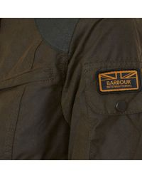 Barbour Green Laudale Waxed Cotton Jacket for men