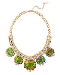 BaubleBar | Green Fire Opal Collar | Lyst
