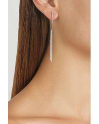Carolina Bucci Metallic 18karat Rose Gold Stick Earrings