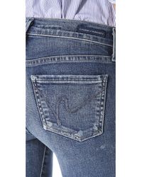 Citizens of Humanity Black Avedon Ultra Skinny Jeans in Axel