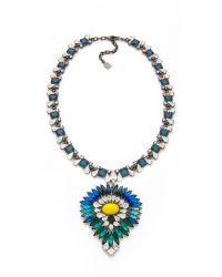 DANNIJO - Metallic Diana Necklace - Lyst