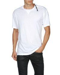 DIESEL | White ED-T-WANJALA Short Sleeves for Men | Lyst