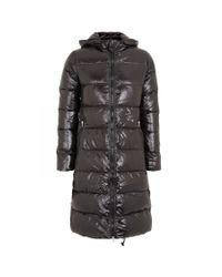 Duvetica | Black Alia Hooded Down Coat | Lyst