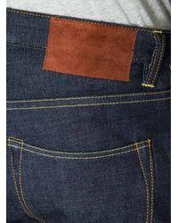 Garbstore Blue Slim Jeans for men