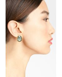 Gurhan | Green Elements Moss Aquamarine Earrings | Lyst