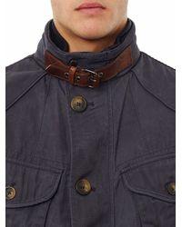 Hackett Blue Sheringham Field Jacket for men