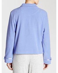 John Lewis Blue Bed Jacket