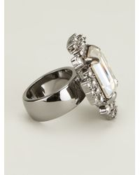 Mawi - Metallic Geometric Ring - Lyst