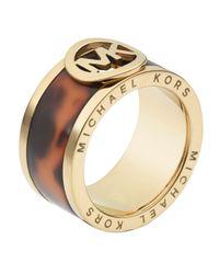 Michael Kors | Metallic Fulton Ring | Lyst