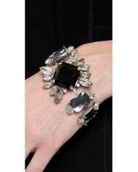 Noir Jewelry - Black Gem Bracelet - Lyst