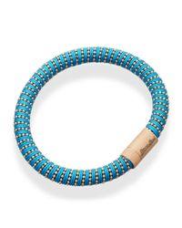 Carolina Bucci - Black Rose Gold Twister Bracelet - Lyst