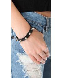Chan Luu - Black Spike Bracelet - Lyst