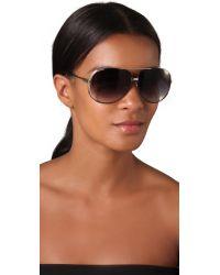 DITA Metallic Century Sunglasses Goldblack