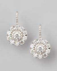 Maria Canale For Forevermark - Metallic Petite Deco Treasures Princess Diamond Drop Earrings - Lyst