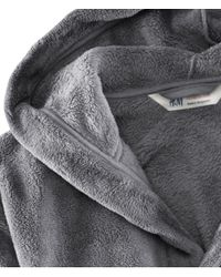 H&M Gray Dressing Gown