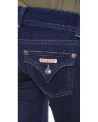 Hudson Jeans Blue Signature Bootcut Jeans Hackney