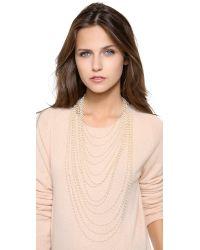 Iam By Ileana Makri - Metallic Multi Strand Necklace - Lyst