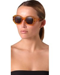 Karen Walker Multicolor Patsy Sunglasses