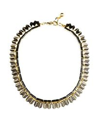 Lulu Frost | Metallic Wavelength Necklace | Lyst