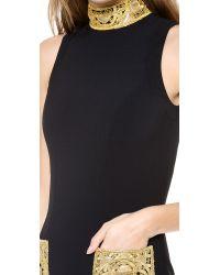 L'Wren Scott Black Sleeveless Dress