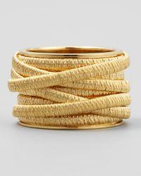 Marco Bicego - Metallic Cairo 18K 9-Strand Ring - Lyst