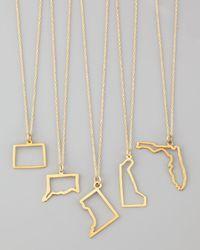 Maya Brenner Designs - Metallic 14k Gold Necklace - Lyst
