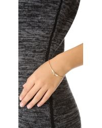 Petite Grand - Red Cord Tube and Bead Bracelet - Lyst