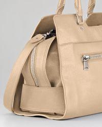 Proenza Schouler Natural Ps13 Small Shoulder Bag Taupe