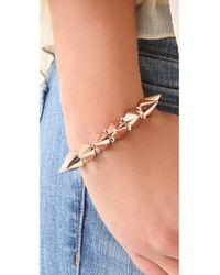 CC SKYE Pink Mercy Spike Bracelet