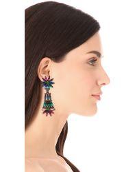 DANNIJO Blue Lovisa Earrings
