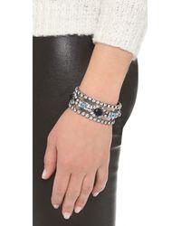 DANNIJO   Metallic Vermeer Pearlandspike Bracelet   Lyst