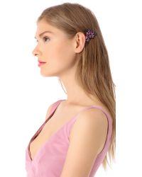 DANNIJO Pink Rose Hair Clip