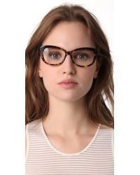 DITA Brown Vamp Glasses