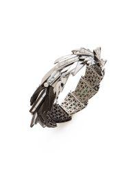 Eddie Borgo - Metallic Cyprus Bracelet - Lyst