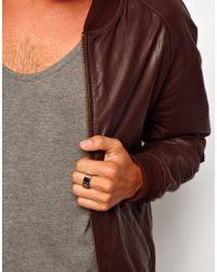 Simon Carter - Metallic Emporio Armani Logo Ring for Men - Lyst