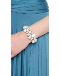 Jenny Packham White Button Bracelet I