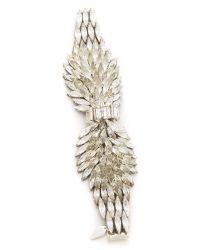 Jenny Packham Metallic Navette Bracelet I
